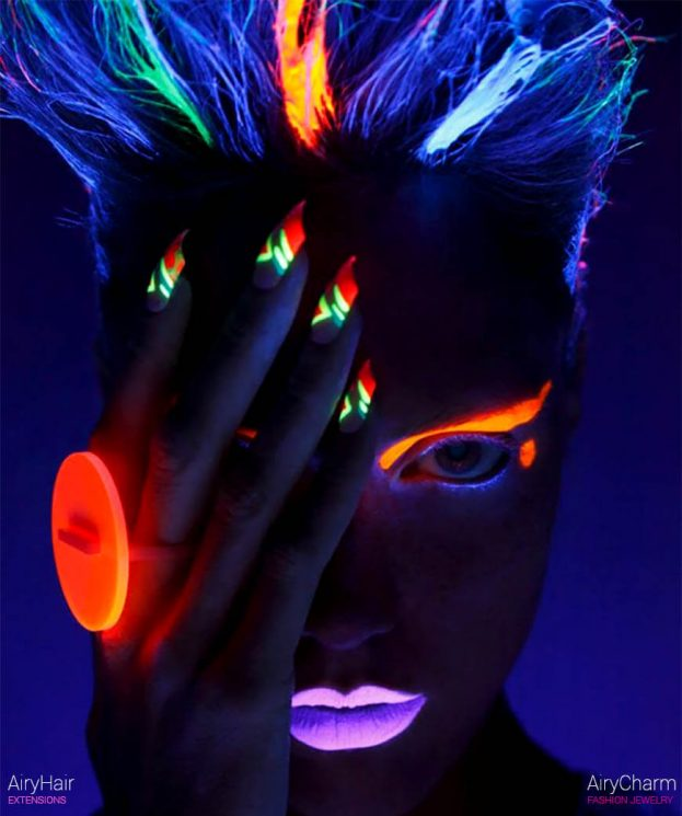 The Best Of Glow In The Dark Neon Hairstyles