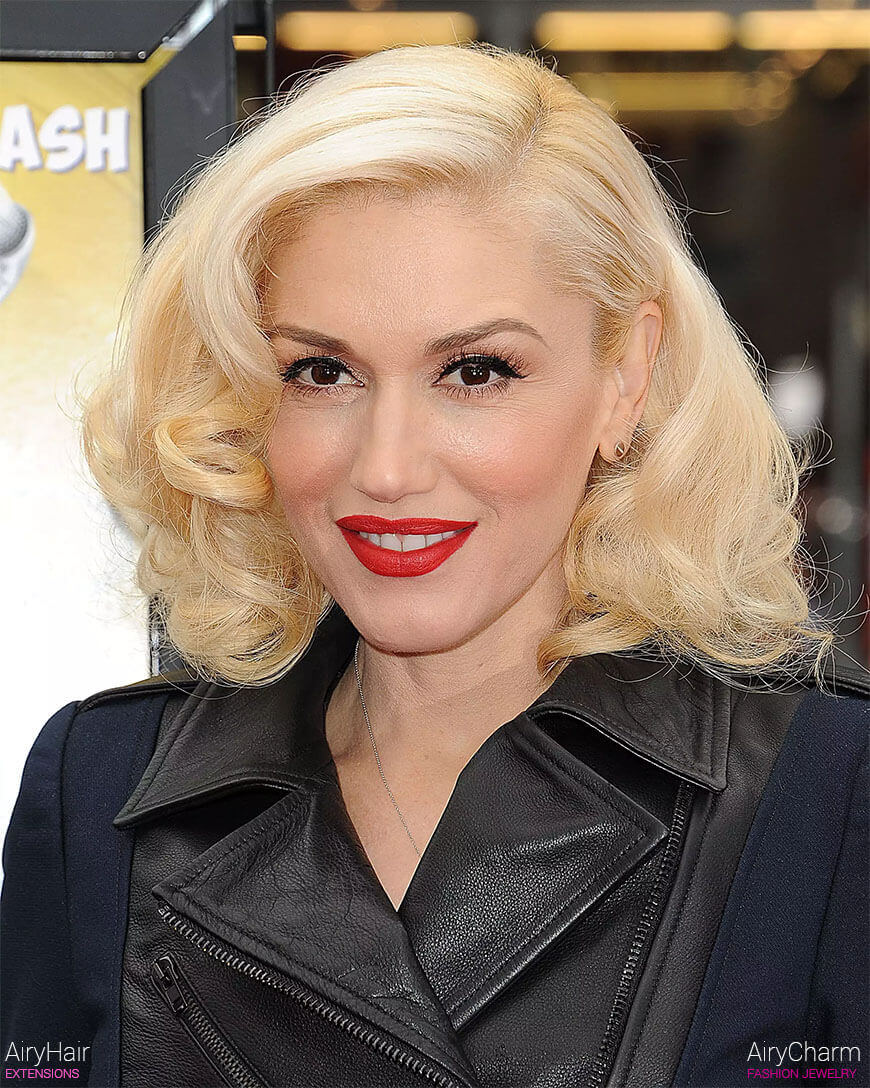 A list of hollywood celebrities and pop stars who have hair extensions gwen stefani hair extensions pmusecretfo Choice Image