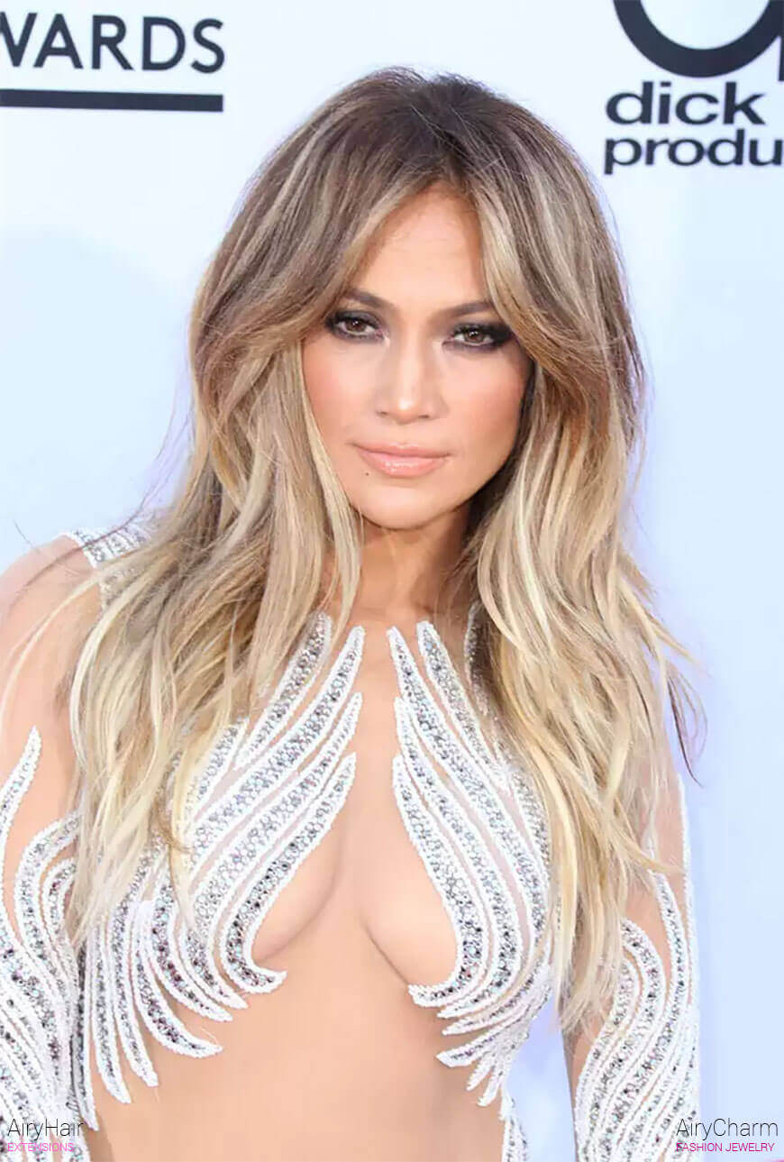 Jennifer Lopez Hair Extensions
