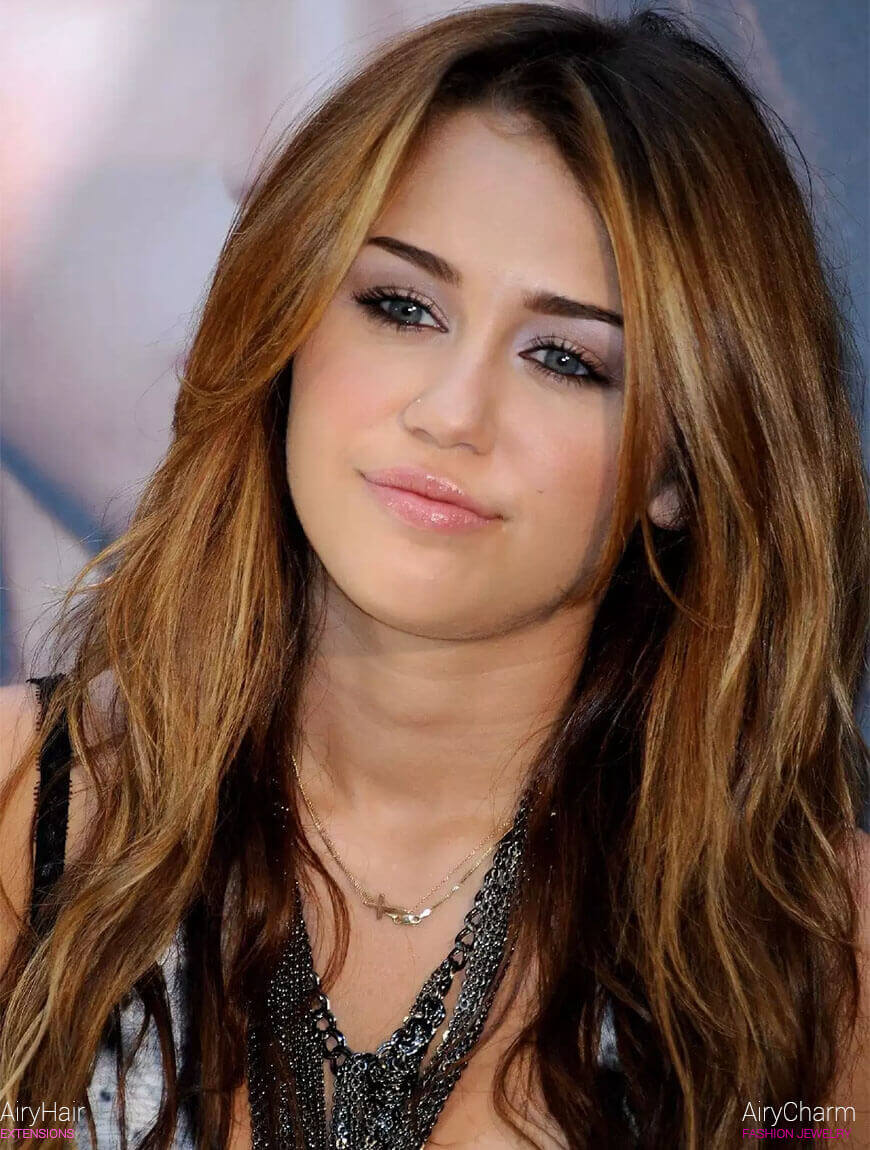 Miley Cyrus Hair Extensions