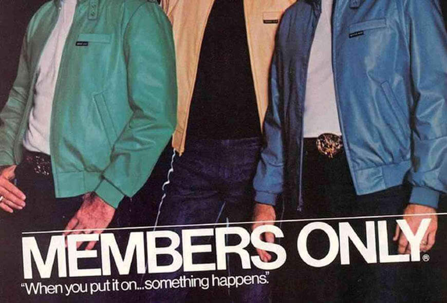 Members Only Jackets