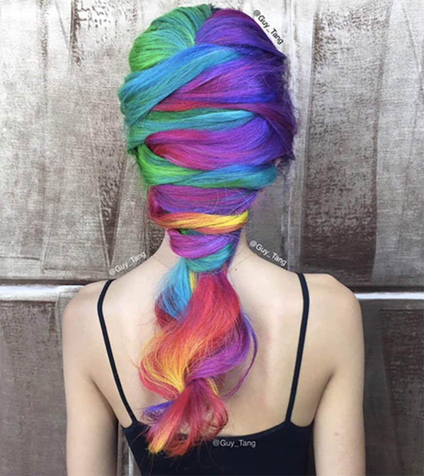 Some hair Over the Rainbow…
