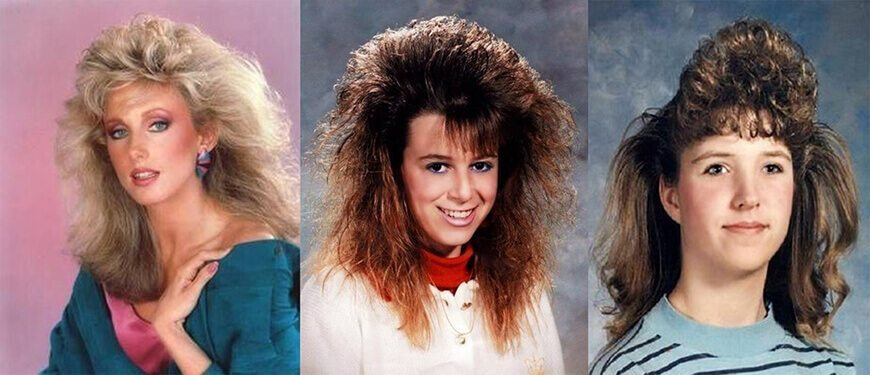 Hair Style In The 80s: 10 Excruciatingly Bad 80s Fads (That Should Never Come Back