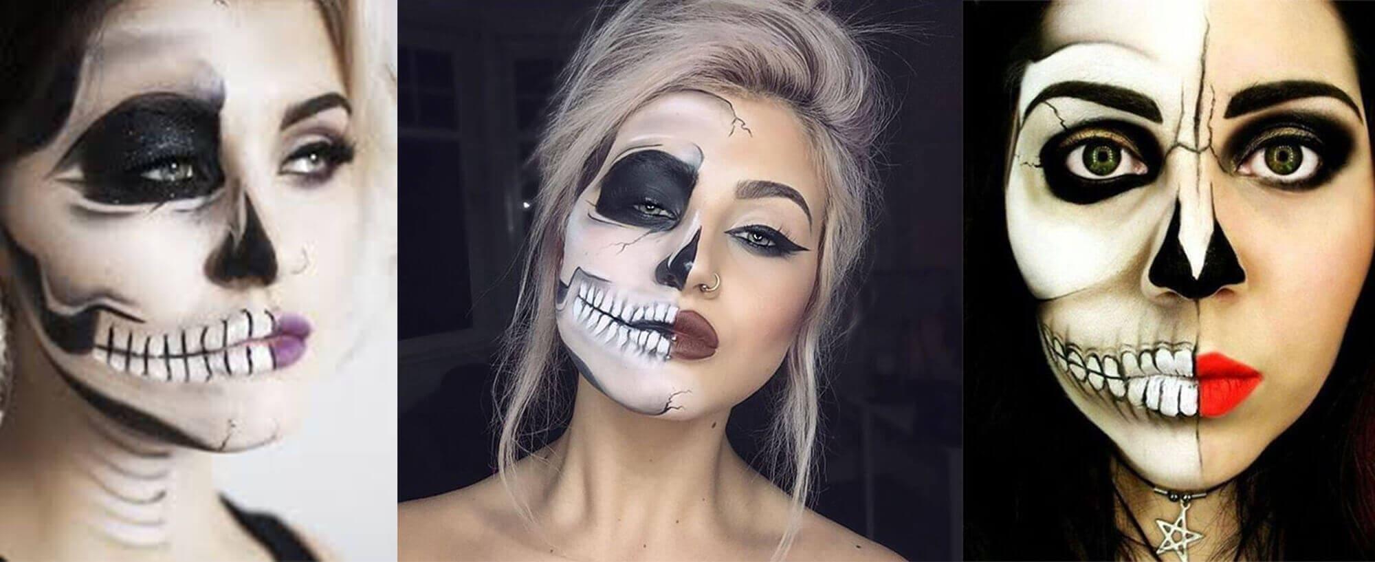Half Skull Face