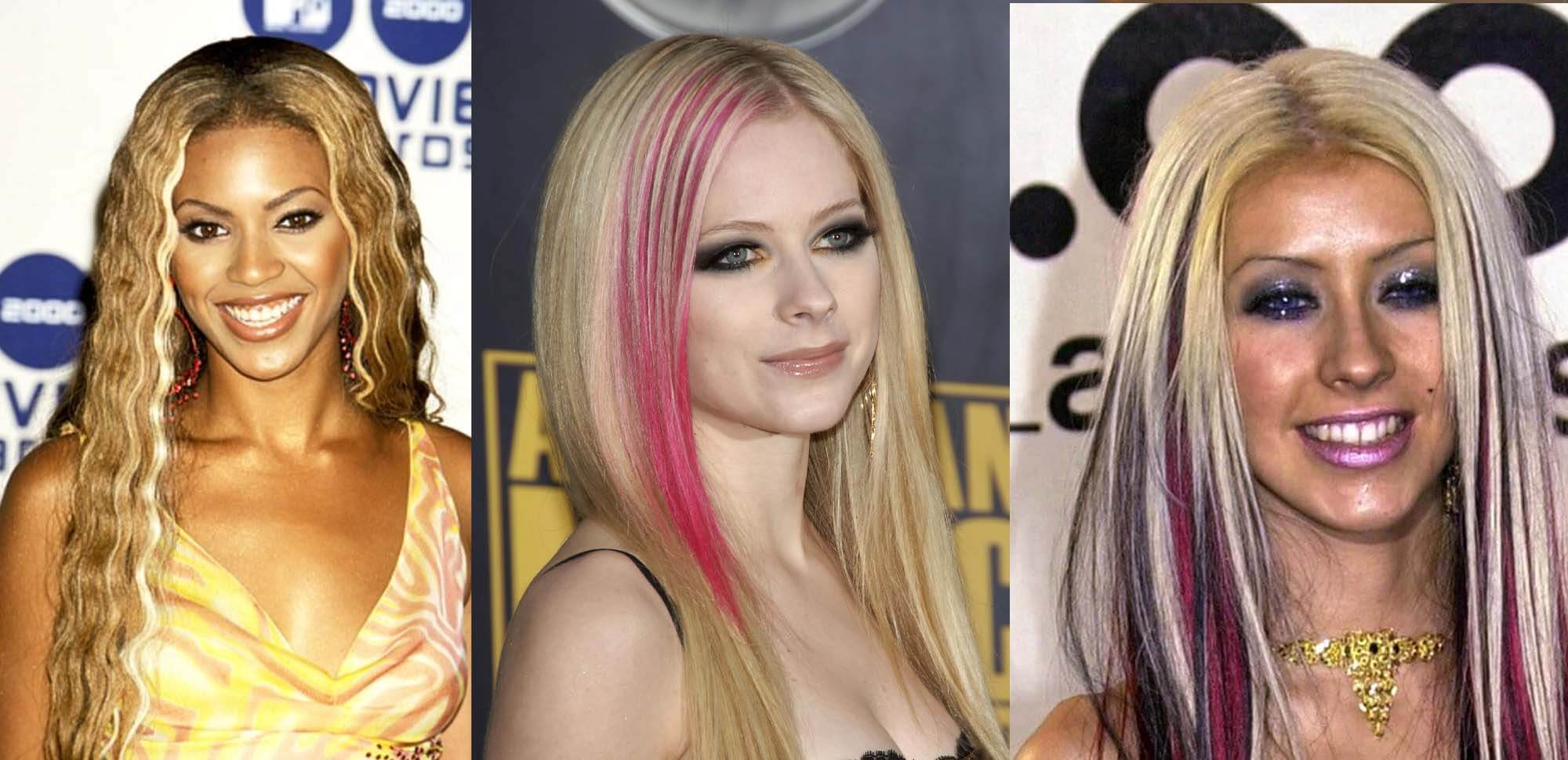 2000s hairstyle trends