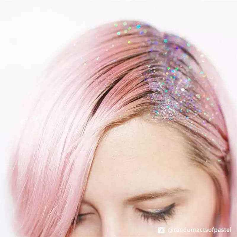 Sparkle hairstyle