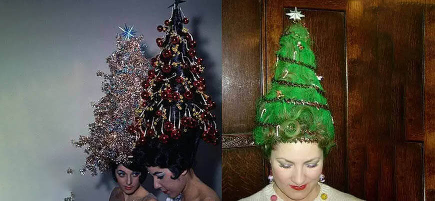 Tree hairstyle