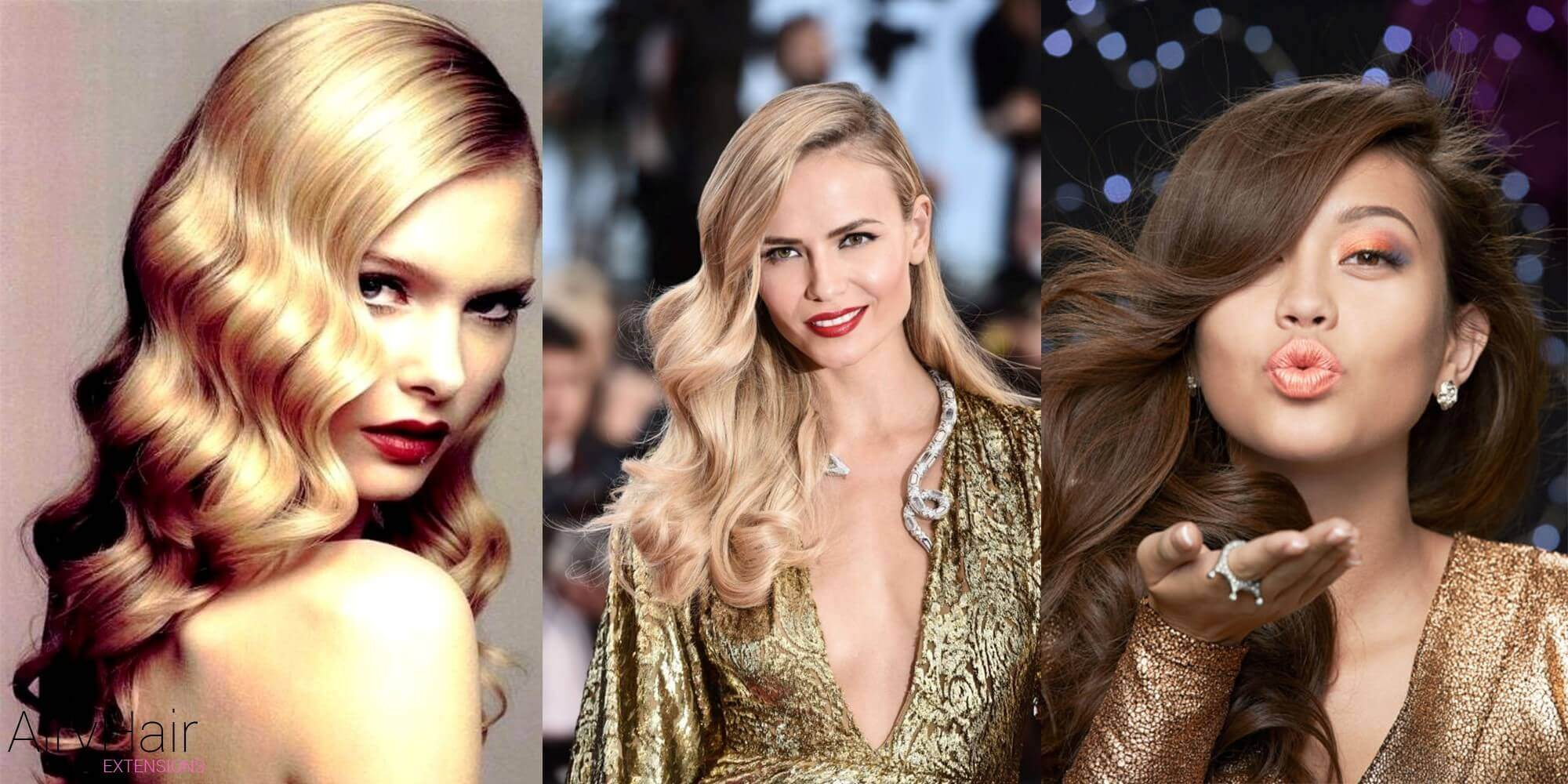 hair styles for new years eve 7 new year s hairstyles that will make you shine 8361 | glamorous waves