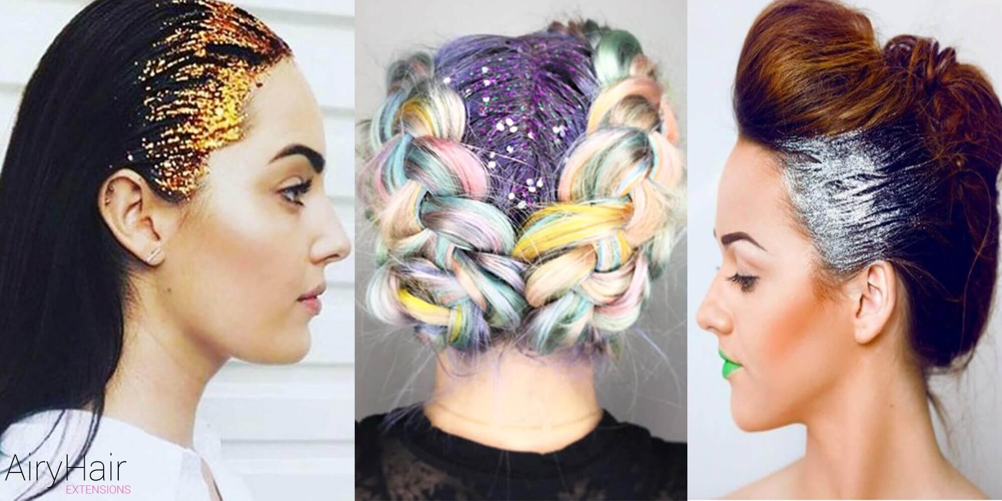 Glitter Hairstyles
