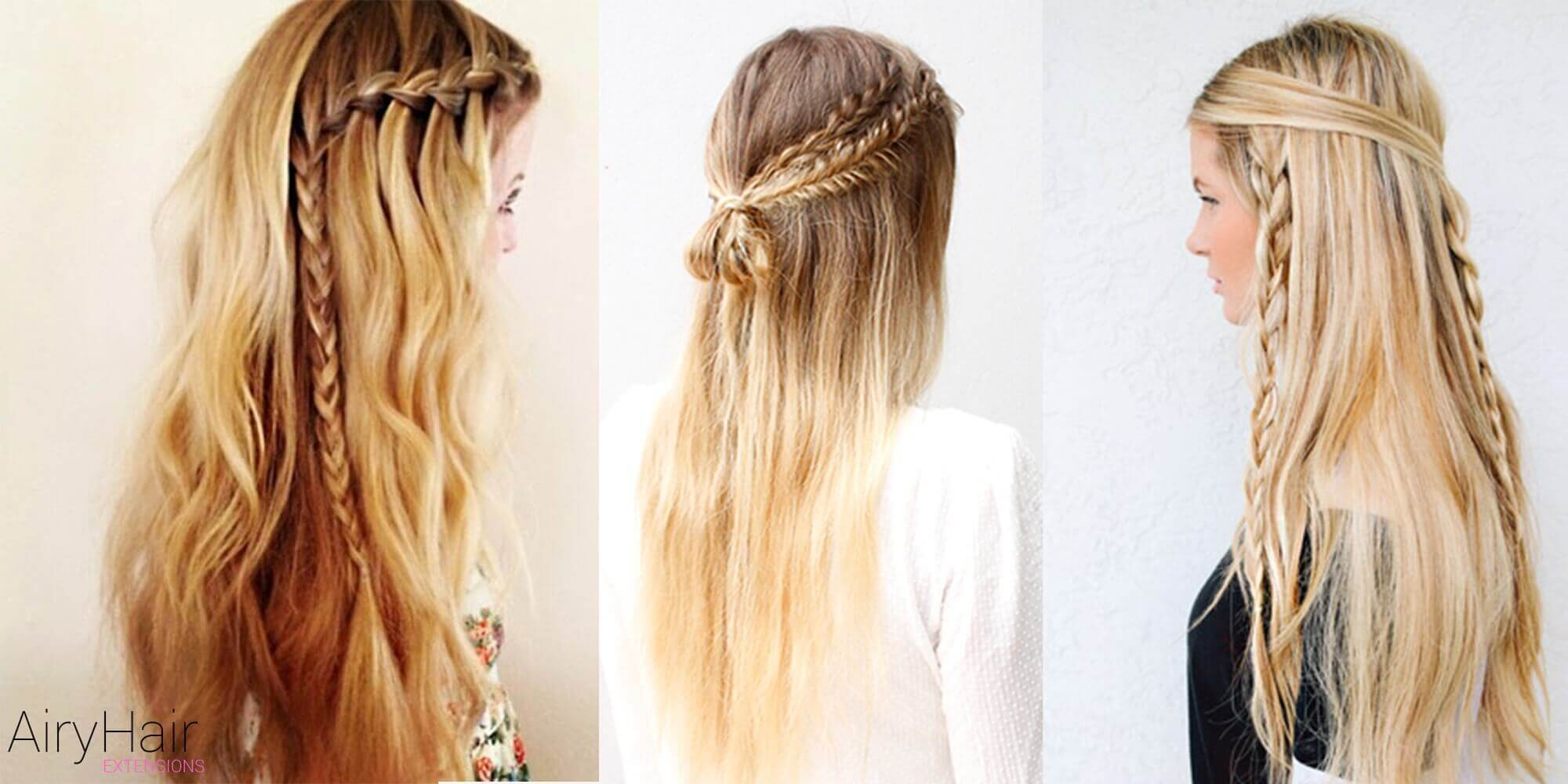 Peachy 10 Best Chic And Creative Boho Hairstyles Hairstyles For Women Draintrainus