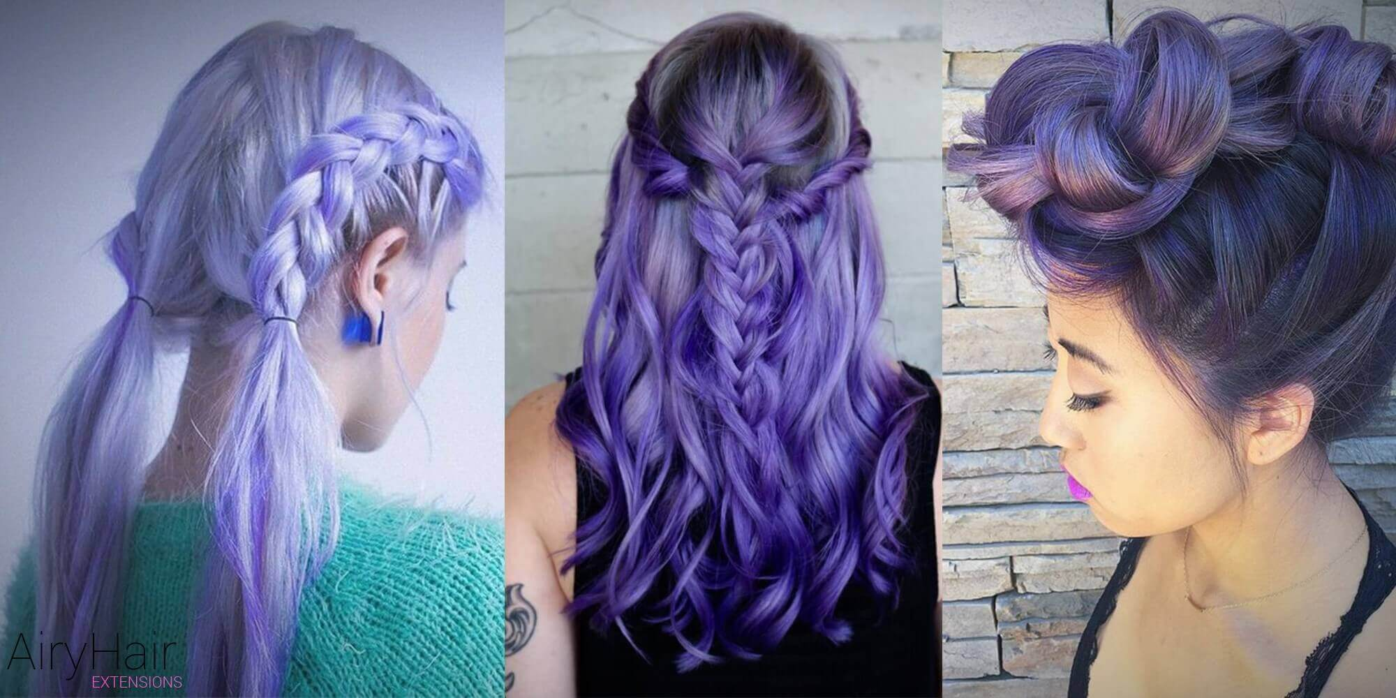 Cool Hair Color Styles: 10+ Cool Pastel Hairstyles For Hair Extension Users