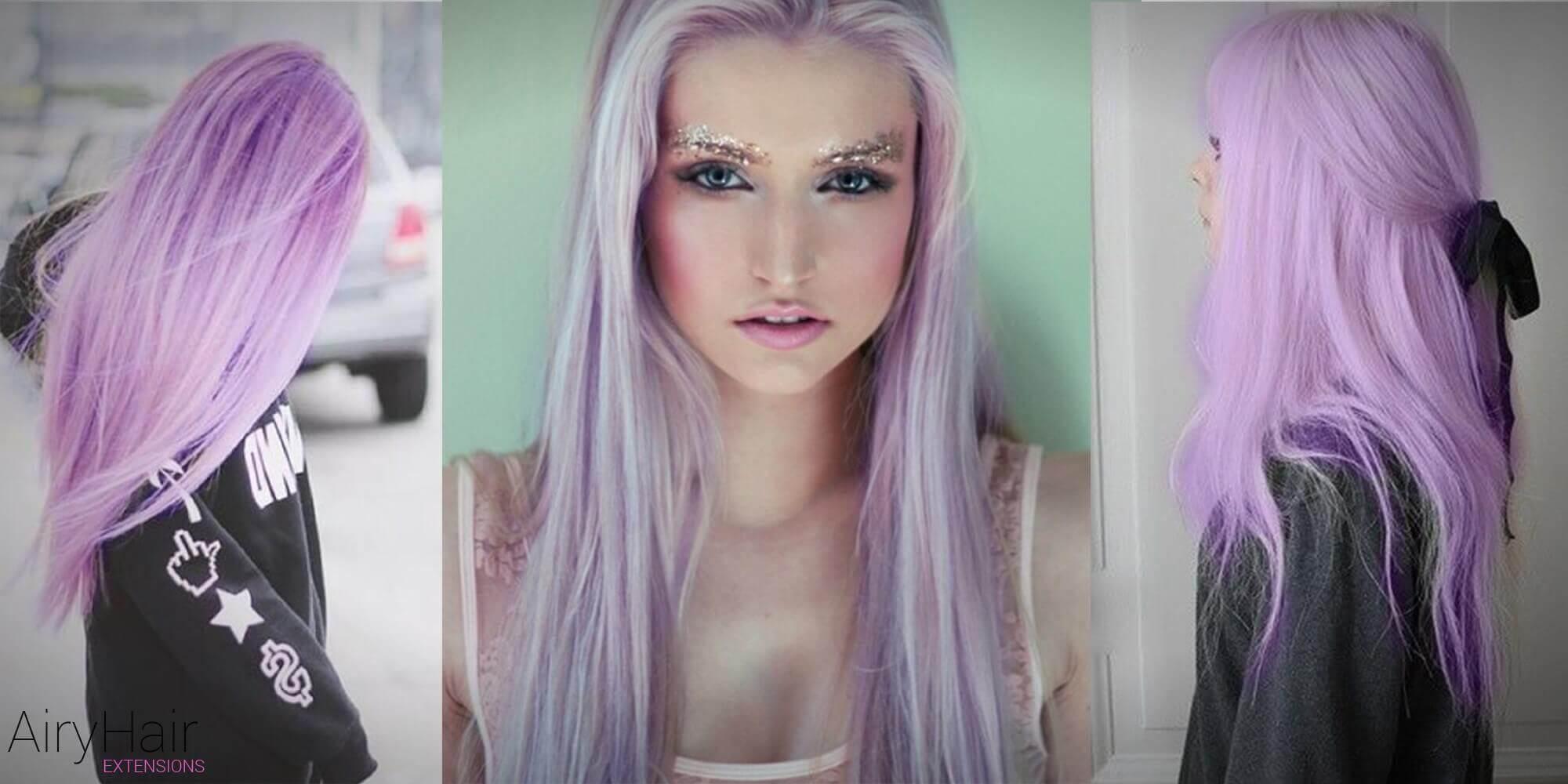 Long Pastel Hairstyle