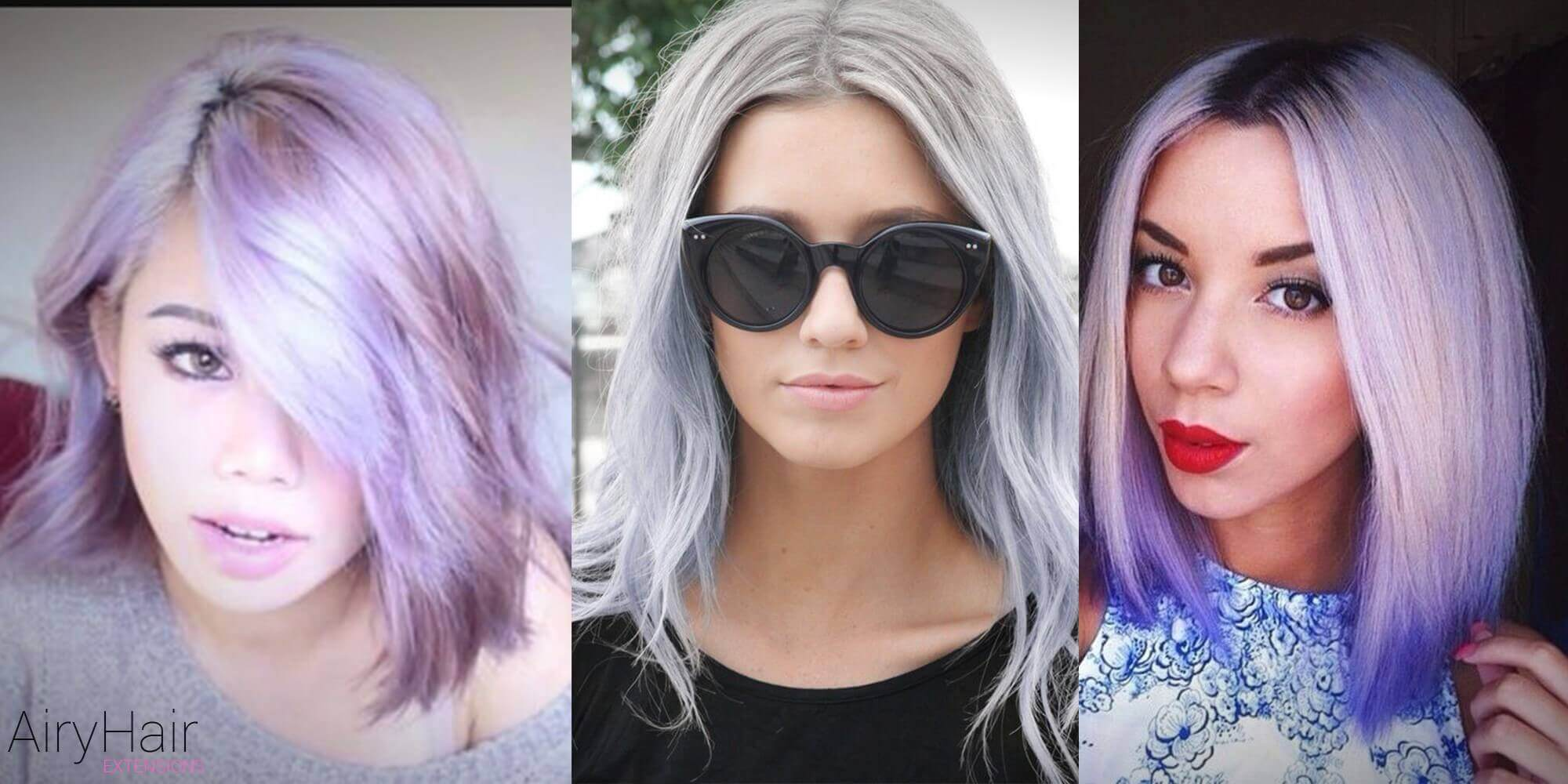 Mid-length Pastel Hairstyle
