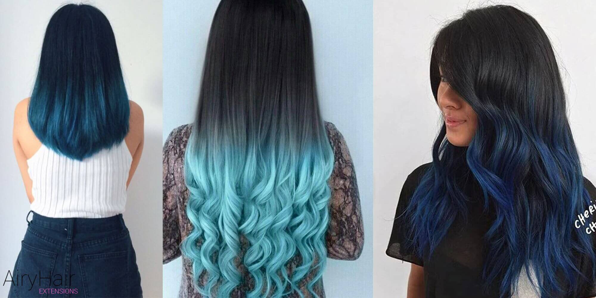 Black Ombre Hairstyles