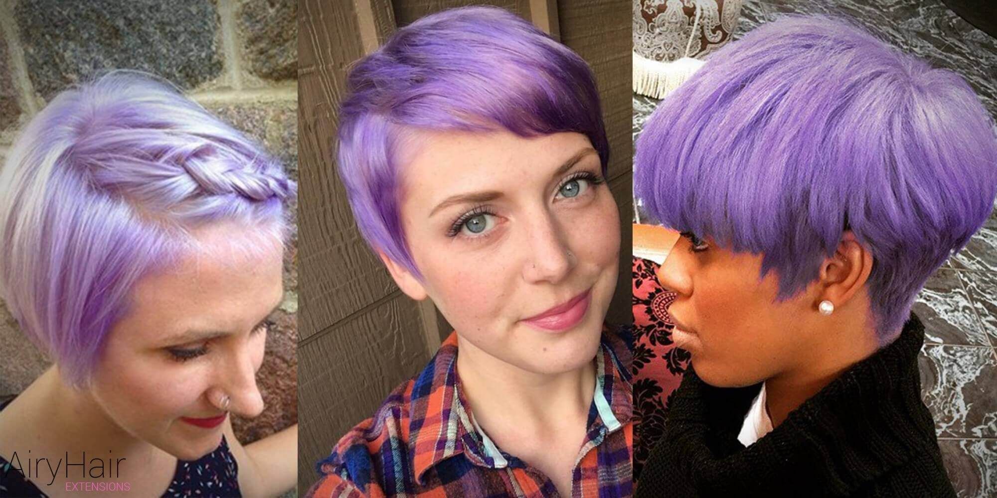 Short Pastel Hairstyle