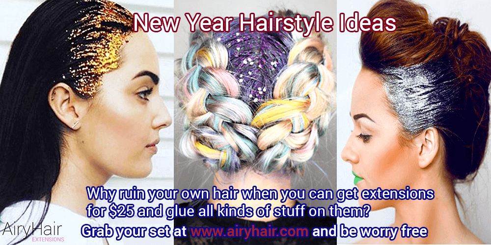 New Year Hair Ideas