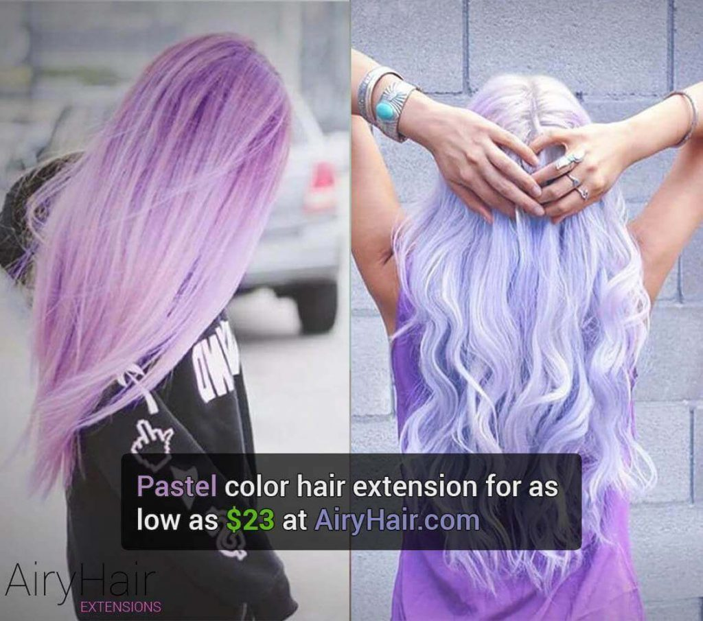 Pastel Hair Extensions