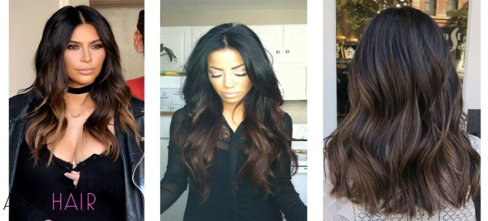 Top 10 black ombr hair extension hairstyles black and brown ombre urmus Image collections