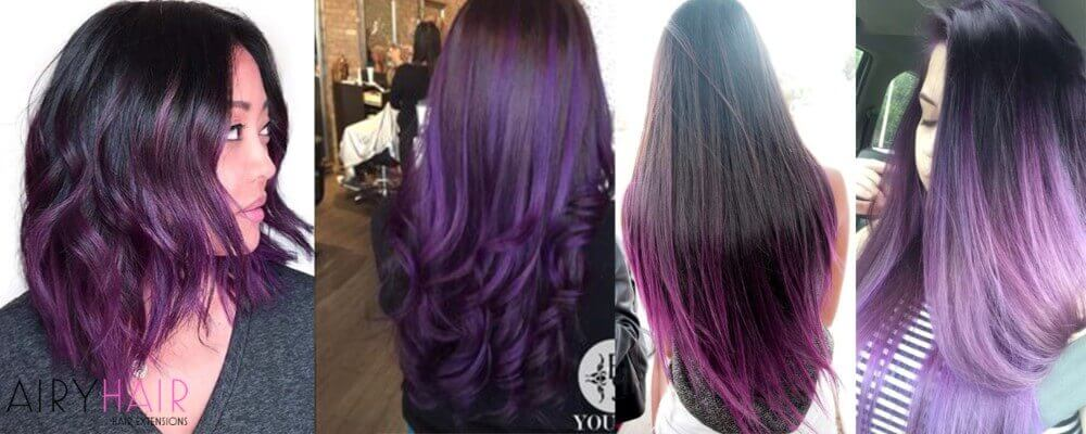 Top 10 Black Ombr Hair Extension Hairstyles