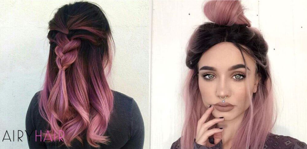 top 10 black ombr233 hair extension hairstyles