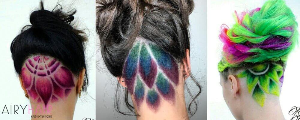 Colorful Feather-like Shapes
