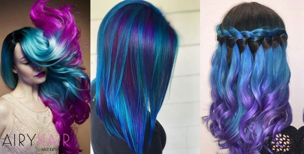 Pink And Purple Hair Styles
