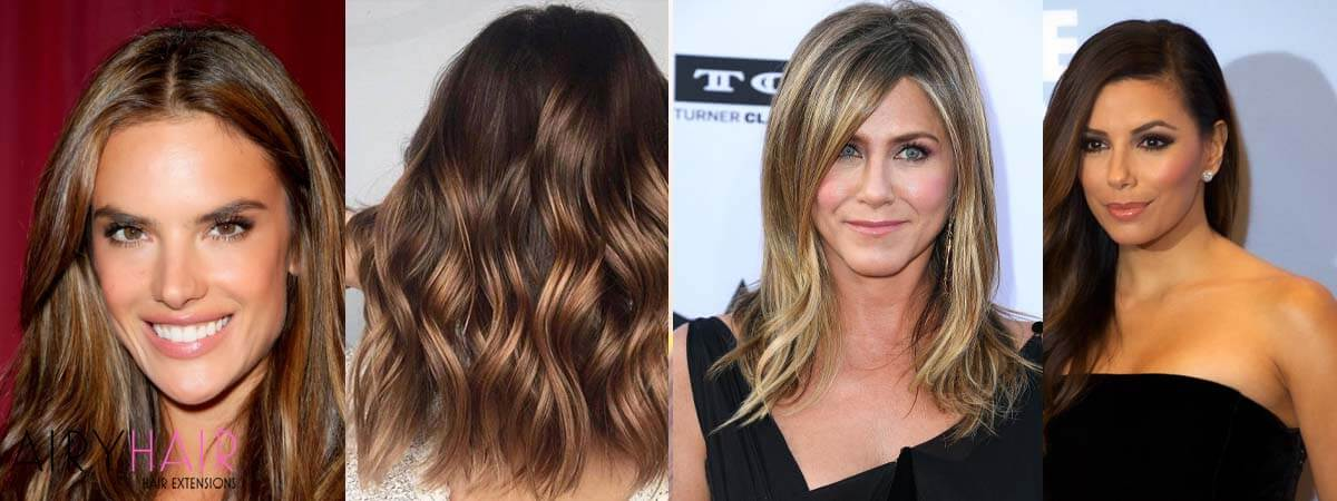 Balayage Hairstyle Examples