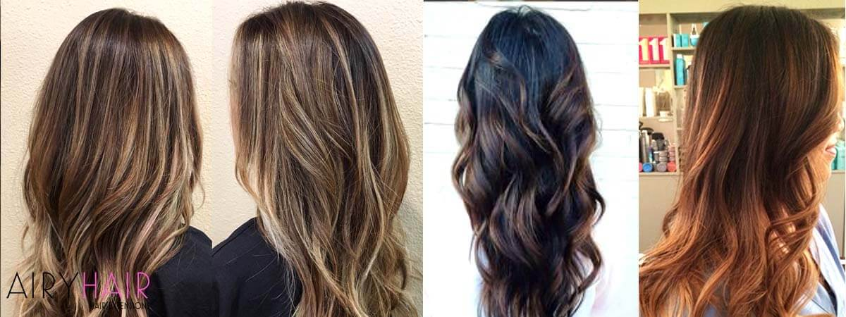 Sombre Hairstyle Examples