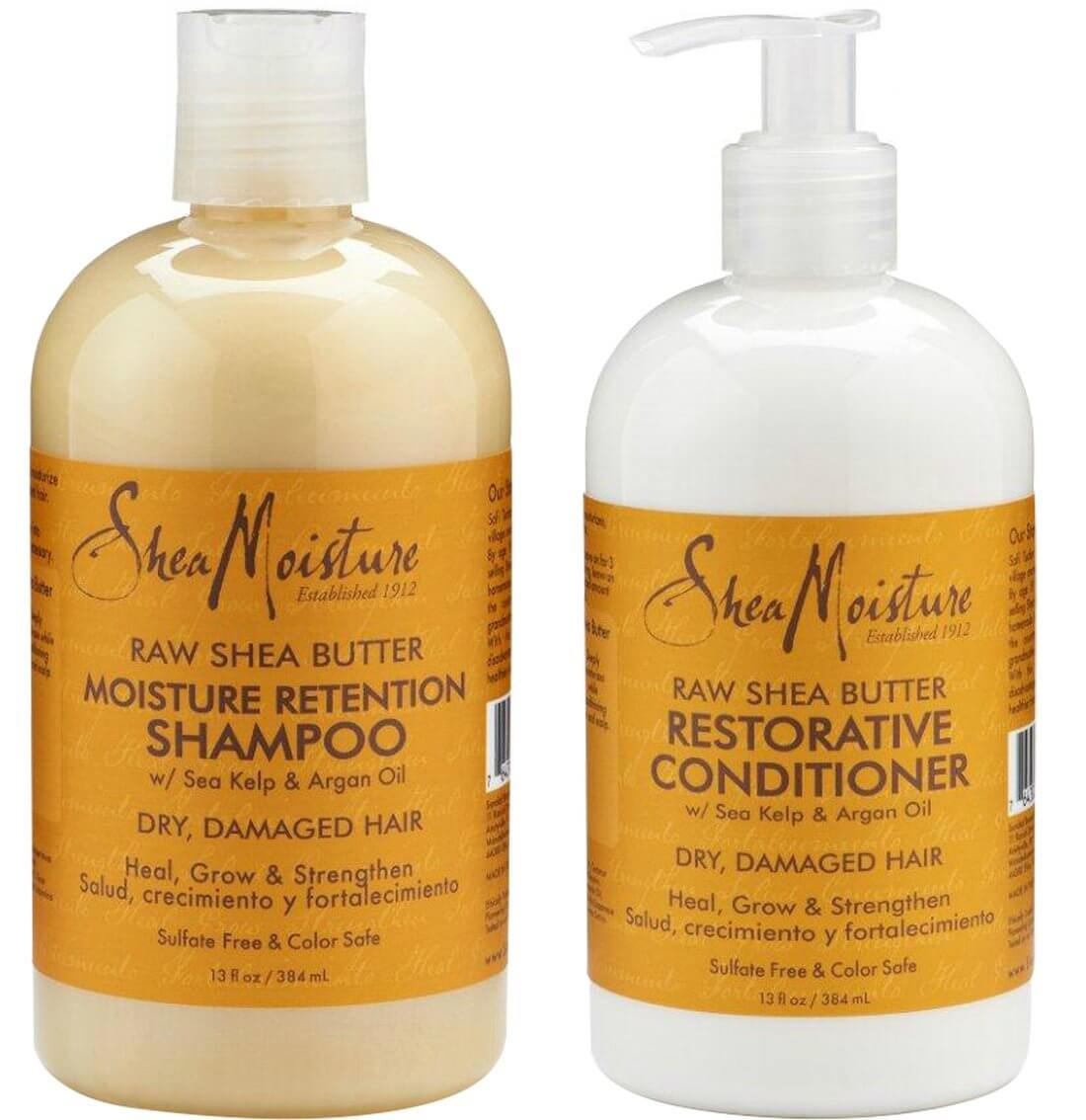 Best shampoos and conditioners for hair extensions shea moisture raw shea butter moisture retention shampoo and restorative conditioner pmusecretfo Choice Image