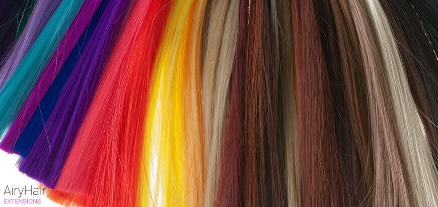 Various hair colors