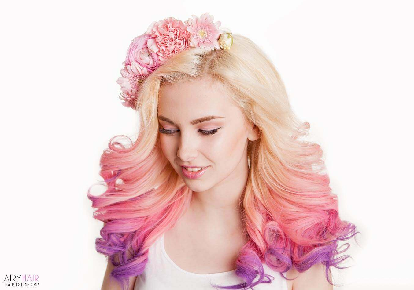 Ombre hair extensions by AiryHair
