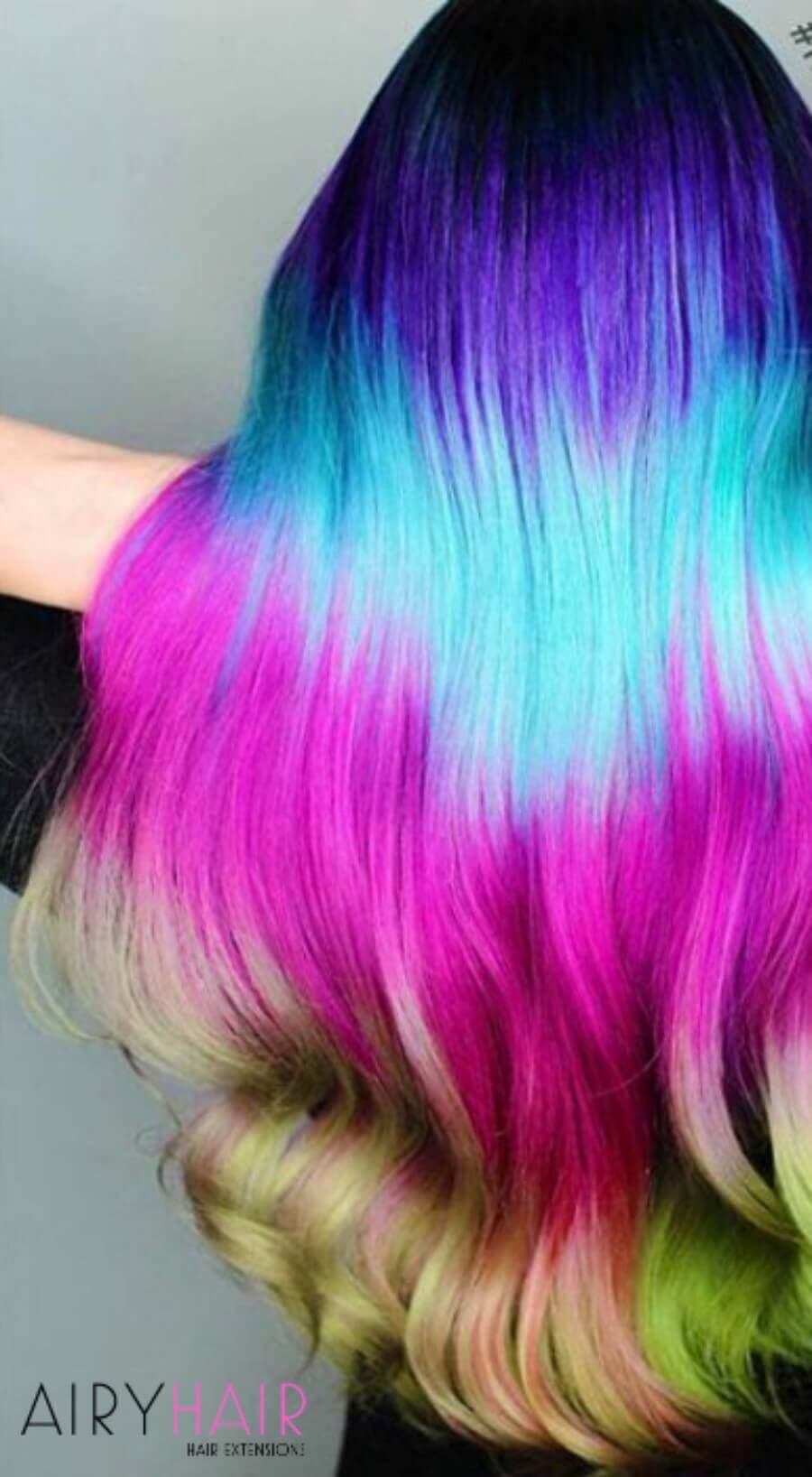 Amazing Purple, Turquoise, Pink, and Yellow Colors