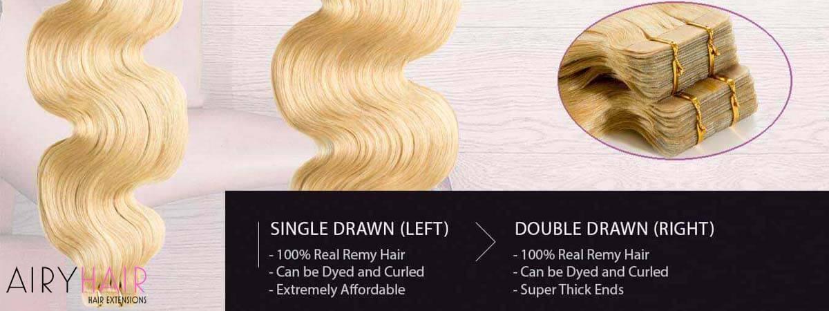 AiryHair Tape in Hair
