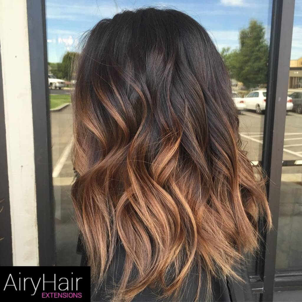 17 Best Black And Brown Ombre Hair Color Ideas 2020