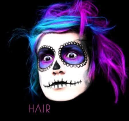 Halloween Hairstyle 2017