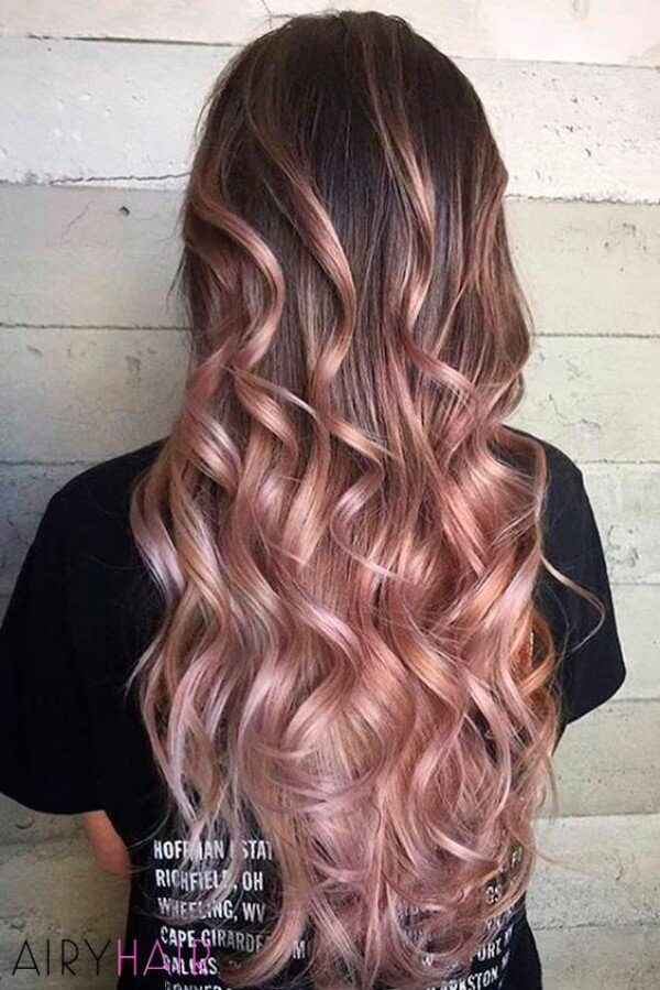 20 Thrilling Ombre And Balayage Hair Extension Ideas