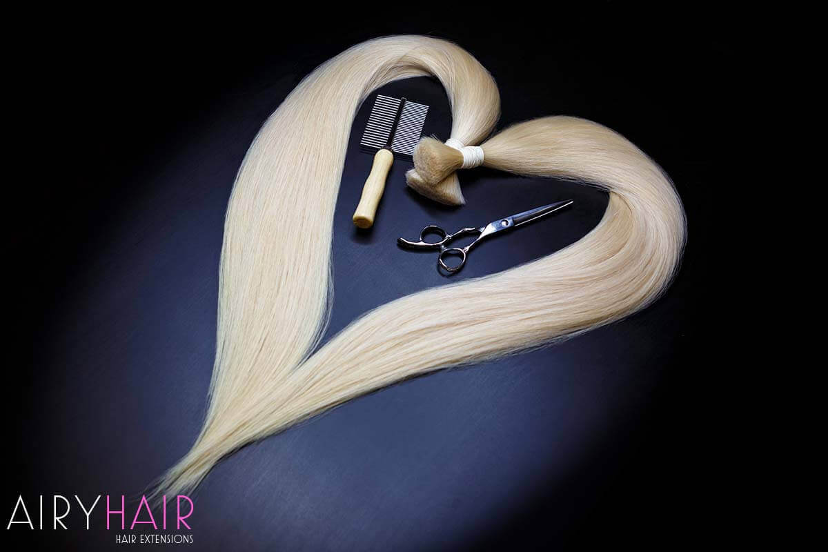 How To Sew Clips On Wefts Or Clip In Hair Extensions