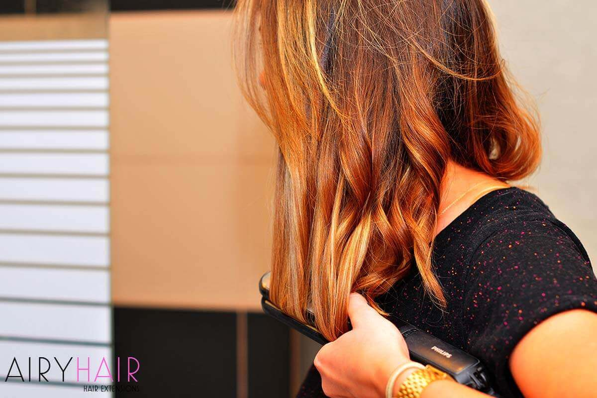 Styling Your Fusion Hair Extensions