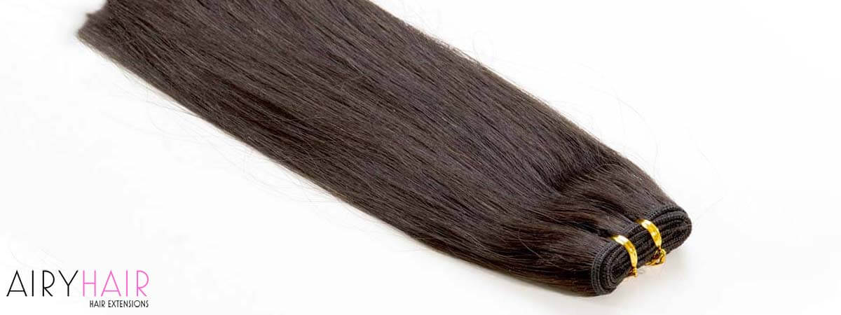 Clip-in Hair Extensions Type in Pictures