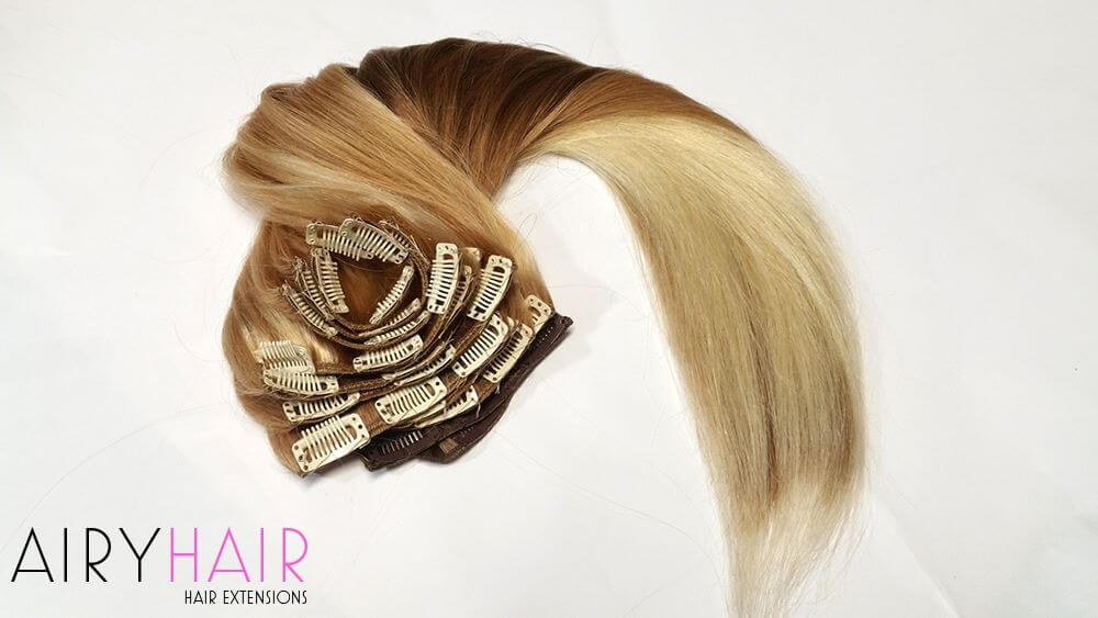 Easy to Apply Clip in Hair Extensions