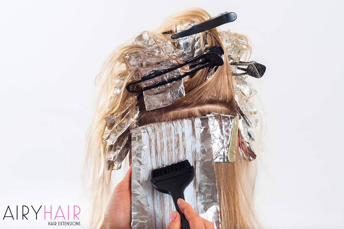 How To Dye Micro Link Hair Extensions At Home
