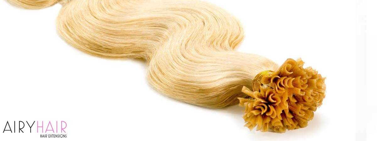 I-Tip Hair Extensions Type in Pictures
