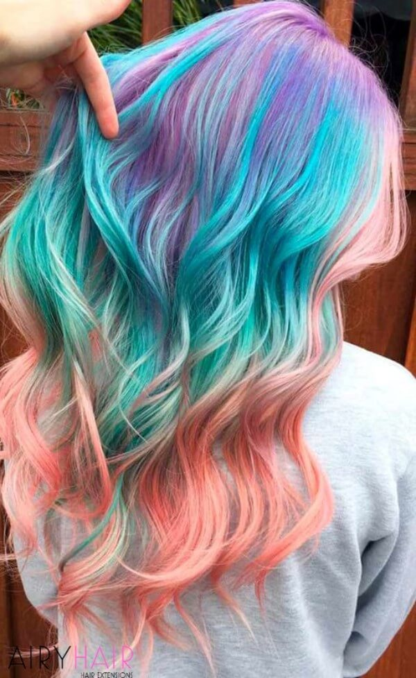 A rainbow of stunning colors