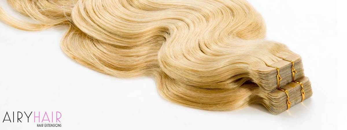 Tape-in Hair Extensions Type in Pictures