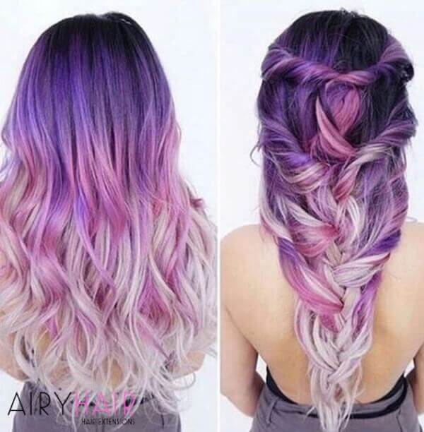 Ombre and balayage technique