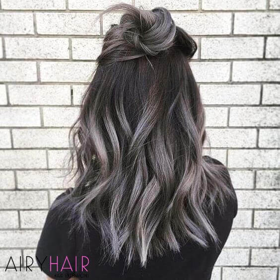 Combining ombre and balayage