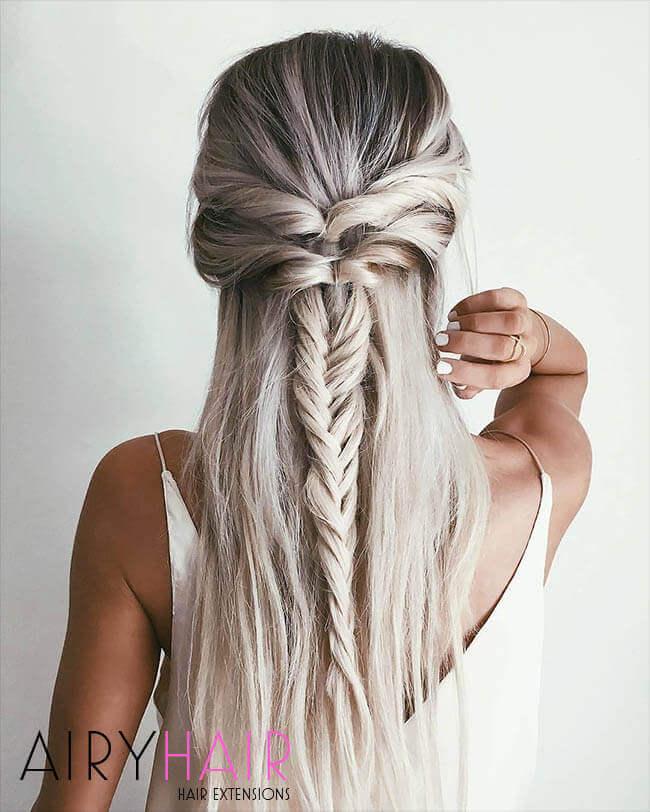 Beautiful rose braids