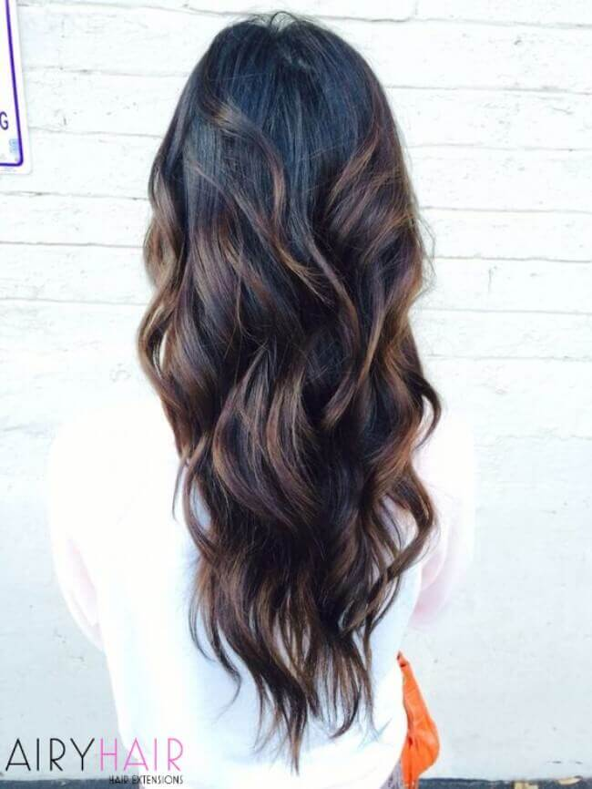 20 hottest black ombré and balayage hair ideas