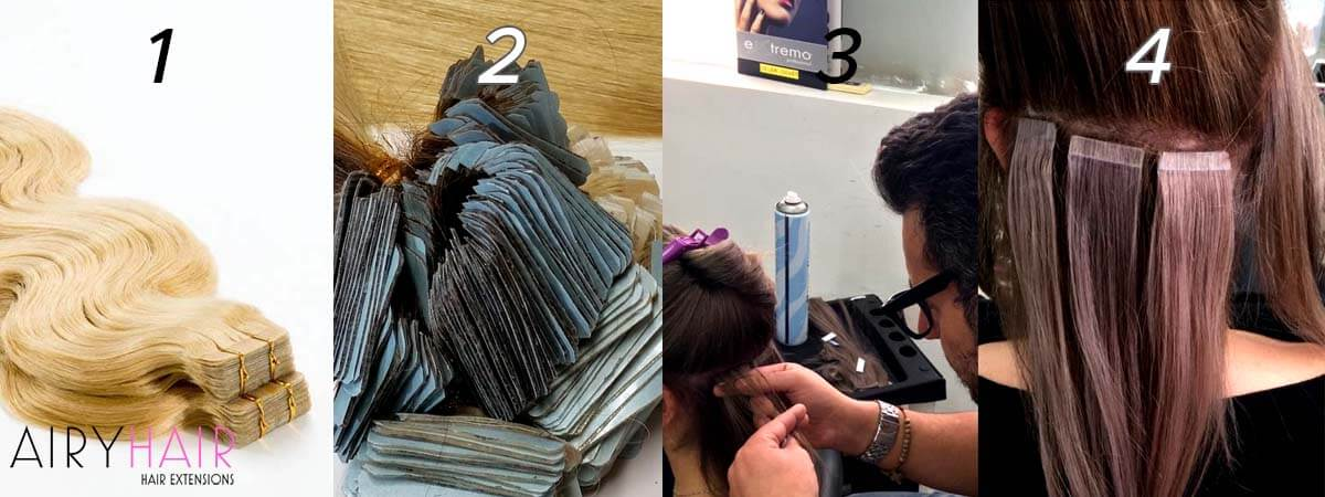 How Do Tape-In Hair Extensions Work? Tape-in Hair Explained (2019)
