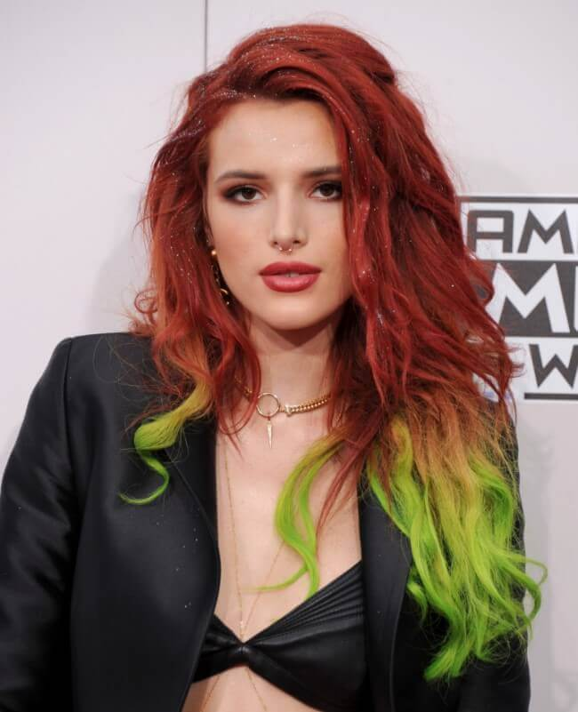 Bella Thorne with Hair Extensions